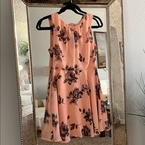 Dresses & Skirts - Pink & Black Summer Dress